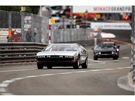 Prince Albert II of Monaco and Andrea Casiraghi driving in the Marzal