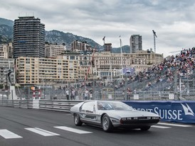 History repeats itself: the Lamborghini Marzal made its first outing since 1967 at the GP de Monaco Historique driven by Prince Albert of Monaco