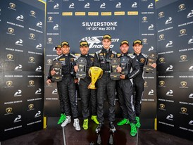 Lamborghini Super Trofeo: Altoé and Zampieri score a sprint victory at Silverstone