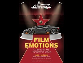 Film Emotions: the most important Lamborghinis of cinema on display at the Museum in Sant'Agata Bolognese