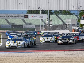 The Lamborghini Super Trofeo Europe offers another show at Misano