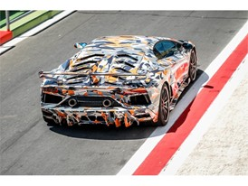 Aventador SVJ at Vallelunga 11