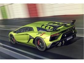 Aventador SVJ Green Pit rear