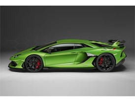 Aventador SVJ Studio Green side