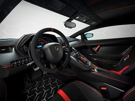Aventador SVJ Studio Green interior