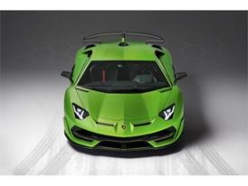 Aventador SVJ Studio Green front