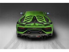Aventador SVJ Studio Green back