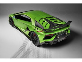 Aventador SVJ Studio Green 3-4 back