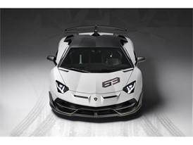 Aventador SVJ 63 Studio White front