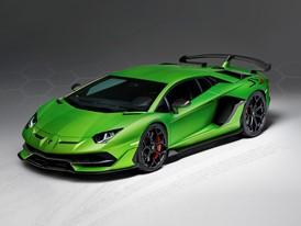 Aventador SVJ Studio Green 3-4 front