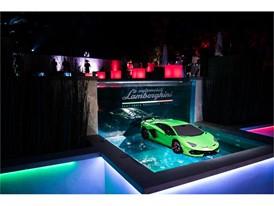 Aventador SVJ at Lamborghini Lounge Monterey