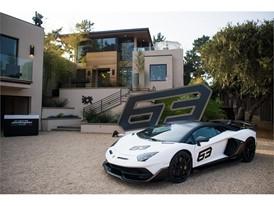 Aventador SVJ 63 at Lamborghini Lounge Monterey