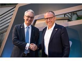 Lorenzo Ortona, Consul General of Italy in San Francisco and Lamborghini CEO Stefano Domenicali