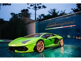 Aventador SVJ on display at Lamborghini Lounge Monterey (2)