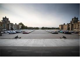 Lamborghini cars on display at Salon Privé