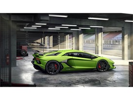 Aventador SVJ Green Box Rear