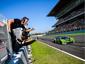 GT Open: happy ending for Lamborghini in Barcelona