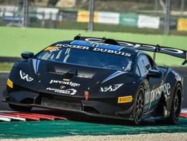 Hindman, Proto Score Lamborghini Super Trofeo North America Poles at Vallelunga