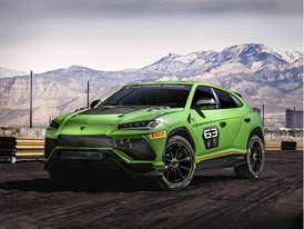 Lamborghini Urus ST-X Concept: the first Super SUV for racing