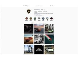 Lamborghini Instagram Profile