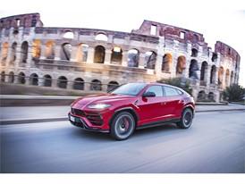Lamborghini Urus in Rome