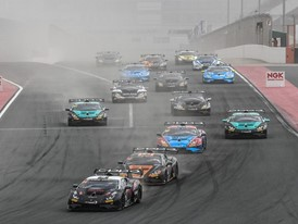 Lamborghini Super Trofeo Middle East, triple win for Target in Dubai