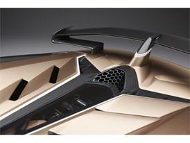 Aventador SVJ Roadster details - spoiler