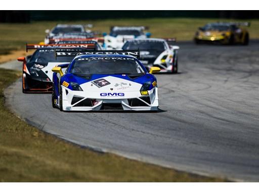 Lamborghini Super Trofeos competing