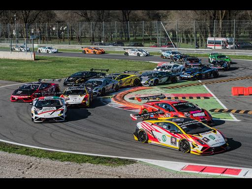 Lamborghini Blancpain Super Trofeo at Monza