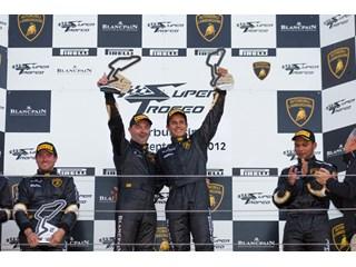 First spoils to Enjalbert & Delhez at the Nürburgring