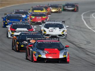 Palmer Completes Weekend Sweep with Second Victory of Lamborghini Blancpain Super Trofeo North America Season
