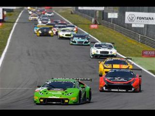 The Lamborghini Huracán GT3 wins at its debut Monza opener for Blancpain Endurance Series