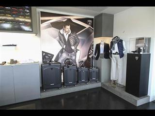 Automobili Lamborghini luggage by Tecknomonster