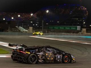Antonelli e Roda vincono Gara 1 del Lamborghini  Super Trofeo Middle East sul circuito di Yas Marina