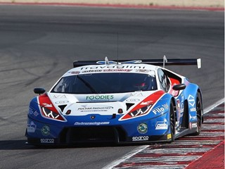 First victory of the season for the Lamborghini Huracán GT3 in the Italian GT Championship