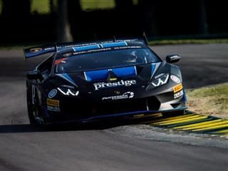Thrilling Battles Mark Terrific Super Trofeo Race 1 at Virginia International Aaceway as Hindman and Agostini Score Fourth Consecutive Win