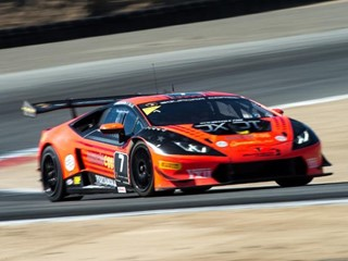 Verstag takes exciting overall and class win in round 9 at Laguna Seca for Lamborghini Super Trofeo North America