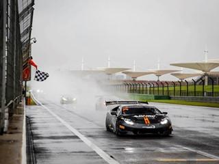 Vittoria di Janosz e Sowery in Gara 2 a Shanghai nel Lamborghini Super Trofeo Asia