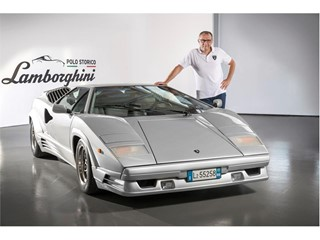 Stefano Domenicali & Countach