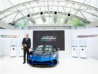Lamborghini Day 2017 in Tokyo celebrates the brand's  50th Anniversary in Japan
