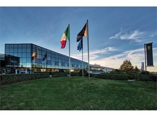 The new Lamborghini factory in Sant'Agata Bolognese: production site doubled, incorporating cutting-edge technologies