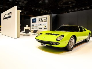 Lamborghini Polo Storico presents its latest projects at Salon Rétromobile 2018, Paris
