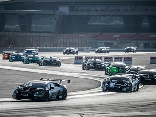 Lamborghini Super Trofeo Middle East: Jefferies and Schreiner win the PRO-AM title in Dubai