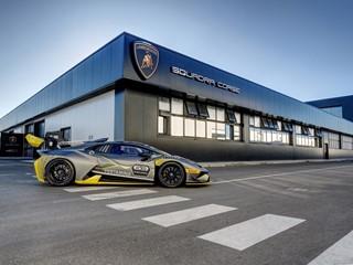 Lamborghini Squadra Corse building