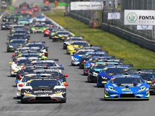 Lamborghini Super Trofeo Europe: at Monza in Race 2 the victory goes to Basz and Postiglione
