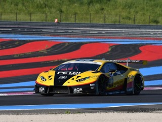 The Lamborghini Huracán GT3 scored a victory in the Italian GT Championship at Le Castellet