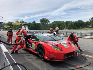 Lamborghini strikes back: another victory and leadership in the IMSA