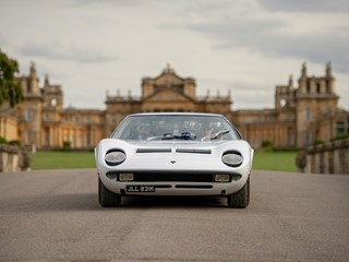 Lamborghini success with two Miura S at Salon Privé and Hampton Court Palace Concours d'Élégance in the UK