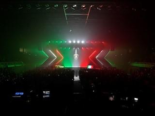 Serata Lamborghini a Modena con spettacolo musicale di Fedez  per celebrare i record del 2018