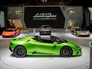 Brand partnerships Automobili Lamborghini al Salone dell'automobile di Ginevra 2019